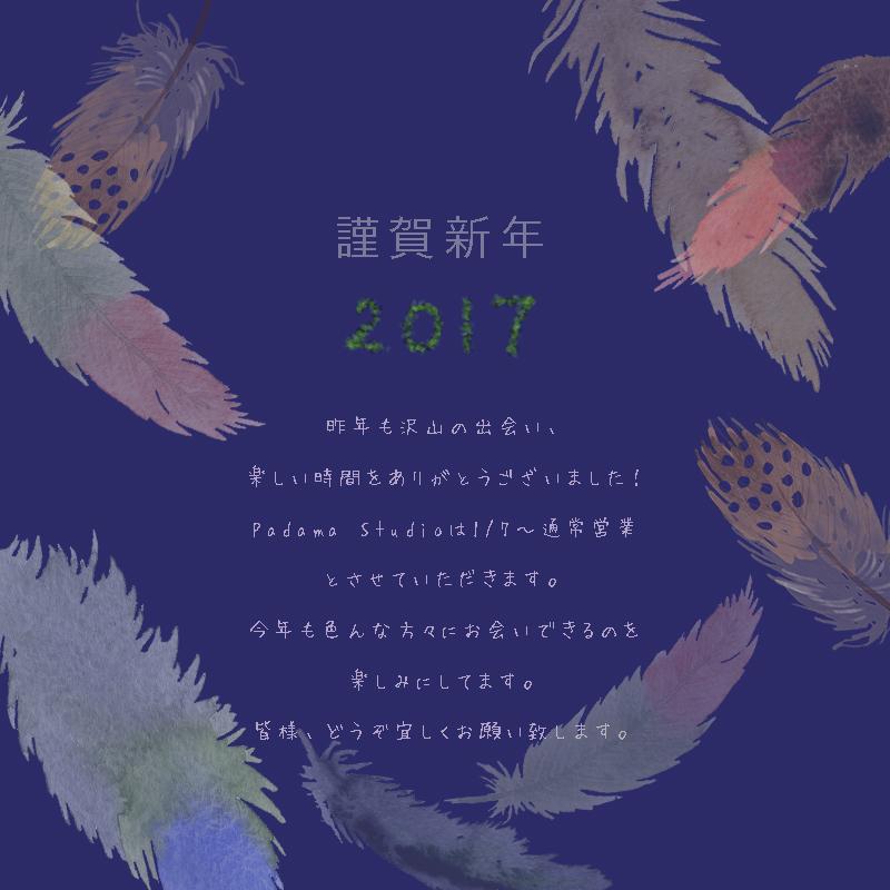 2017年謹賀新年